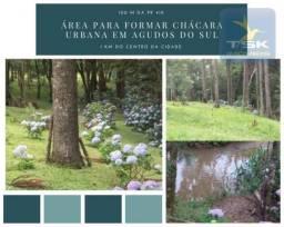 CH0837 Chácara à venda, 12100 m² por R$ 260.000 - 1 km do centro da cidade Agudos do Sul/P
