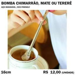 Título do anúncio: Canudo para Mate Tereré Chimarrão Bomba