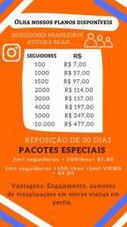 Seguidores para instagram reais brasileiros e ativos