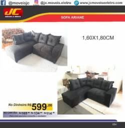 Sofa de canto Ariane direto de fabrica cc