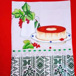 Panos de prato decorativo