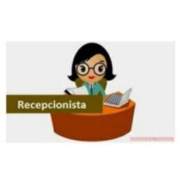 Recepcionista/Atendente. PROCURO VAGA