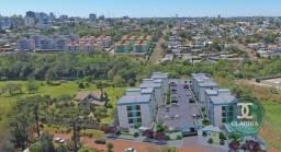 Apartamento com 2 dormitórios à venda, 57 m² por R$ 165.000 - Pioneiros Catarinenses - Cas