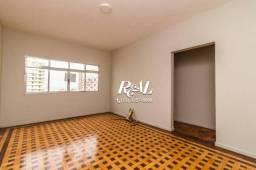 Apartamento com 3 dormitórios para alugar, 110 m² - Gonzaga - Santos/SP