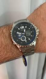 Relógio Atlantis com desconto pra hoje. Só chamar e enviamos todos os modelos.