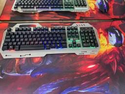 Teclado e Mouse Gamer-(Loja Wiki)