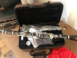 Clarinete Profissional Moresky M1 - Madeira Ébano 17 Chaves