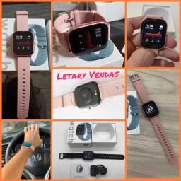 Smartwatch P8 Colmi Rosa Original com Garantia