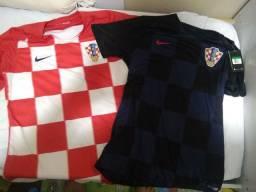 Camisas Seleção Croácia NOVAS