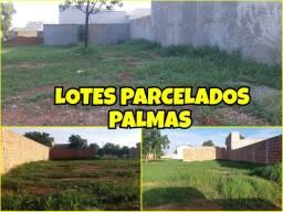 Lotes parcelados em Palmas