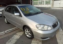 Corolla 1.8 XEi Aut. Ano 2003 Completo