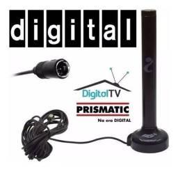 Antena Interna Tv Digital Hdtv Externa Conversor Base Imã
