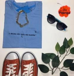 T-shirt minimalista (frases)