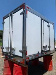 Bau frigorifico 2.80m kia bongo e hr novos instalado Mathias Implementos
