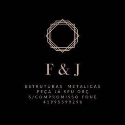 F&J estruturas metálicas preço baixo e resistência