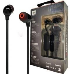 Fone Jbl Bluetooth Tune 125 bt Sem Fio C/ Microfone Integrado.