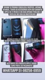@mundicell_poa iphone 12 Promax 128gb lacrado Anatel desbloqueado garantia Apple nf