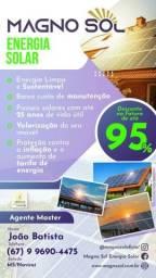 Economia na conta de energia até 95%