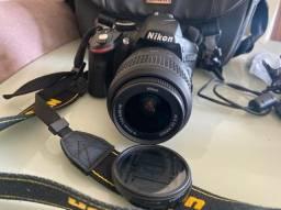 usado - Nikon d3200 com todos acessorios da foto