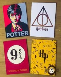 Promoção Kit  Quadro Harry Potter