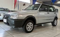 FIAT Uno MILLE WAY 1.0 FLEX 2012 ---- 4 PORTAS