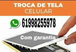 Concerto de celular  - trocar tela de celular  - assistência técnica de celular