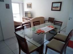 Apartamento com 3 dormitórios para alugar, 90 m² por R$ 2.500/mês - Enseada - Guarujá/SP