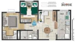Apartamento com 2 dormitórios à venda, 44 m² por R$ 220.000 - COHAB C - Gravataí/RS