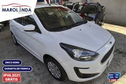 Ford Ka 1.0 SE Ipva Pago-Garantia de Fábrica - 2020