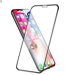 Película de Vidro 3D para iPhone 6,7,8,Se,11, 11Pro,11 Pro Max X, XS, Xs Max e XR