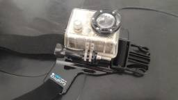 GoPro Hero + Suporte Colete Peitoral Original Gopro Chest Harness Gchm30