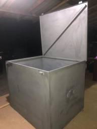 Caixa de ferro para máquinas e ferramentas