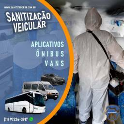 Sanitização de Ambientes e Veículos