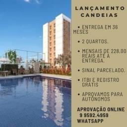 02 Qts - Candeias - Lançamento>> Praia de Candeias - Mensal 228 reais