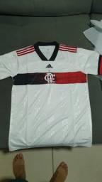 Camisa Flamengo branca 20/21