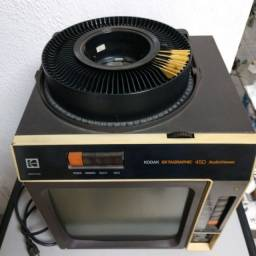 Projetor slides Kodak Ektagraphic 450 AudioViewer