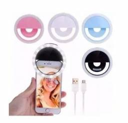 Ring Light  Para Celular e Selfies Universal Recarregável