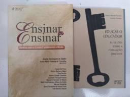 2 livros da área de Educação