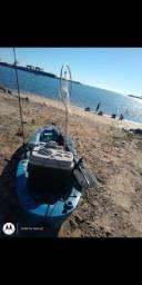 Caiaque pesca Robalo com Rack ventosa top