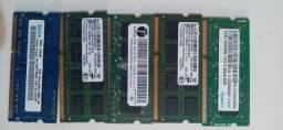 Memorias notebook DDR3, DDR2
