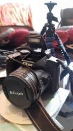 Câmera fotográfica Nikon Coolpix P510 Semi-Profissional.