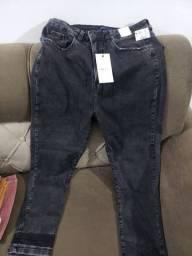 Jeans nova, tam 46 com strech
