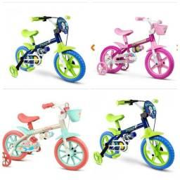 Bicicleta infantil juvenil e adultos.