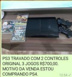 Playstation 3 travado