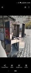 Máquina churrasco grego