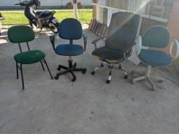 Vendo cadeiras de escritório valores a negociar