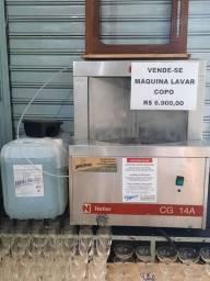 Maquina de lavar copo