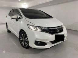 Honda Fit EXL 2019 Aut CVT Banco de Couro AR Digital Topo de linha