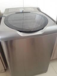 Máquina de lavar roupa Brastemp ative inox