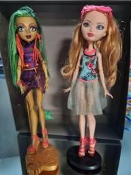 Bonecas monster high e Ever after high